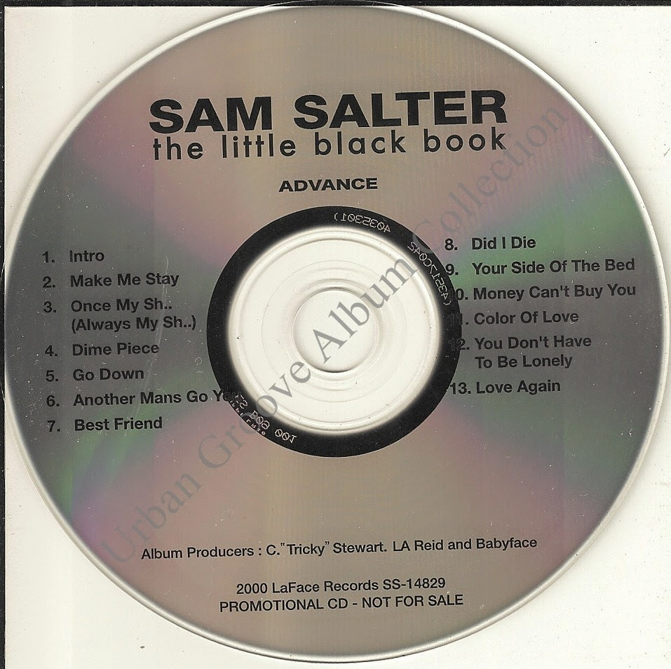 Sam Salter The Little Black Book Advance Album 2000