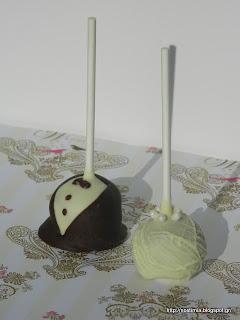 Νυφιάτικα cake pops