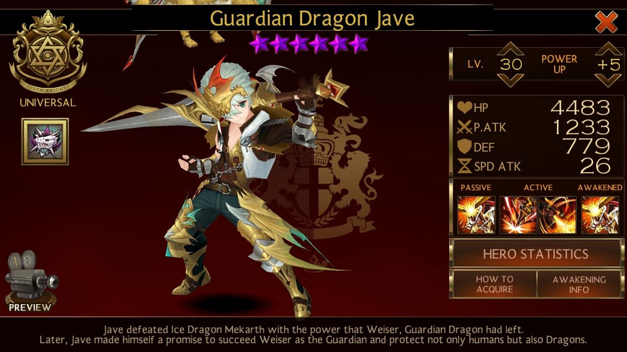 Cara Meng-counter Jave di Arena (Seven Knights) - Anonymous SE
