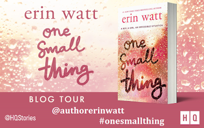 #BlogTour One Small Thing by Erin Watt