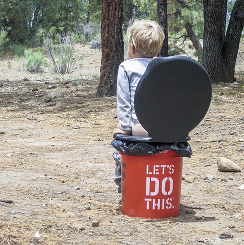 Do I Need A Luxury Portable Bathroom Trailer For My: Tiny Yellow Teardrop: 5 Best Portable Potties For A