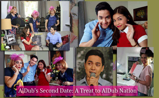 AlDub's Second Date: A Treat to AlDub Nation