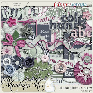 All That Glitters Is Snow by Ginger Scraps designers