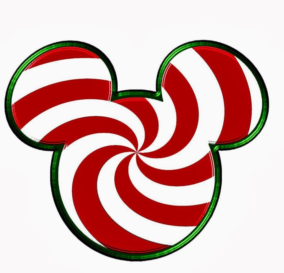 Mickey and Minnie Heads Dressed for Christmas. | Oh My ...