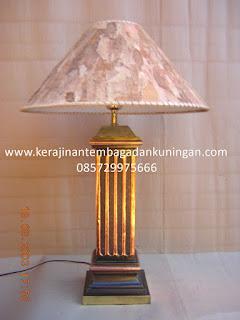 Lampu Stand Tembaga Kuningan