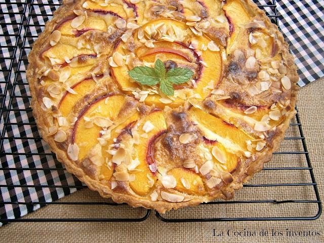 Tarta De Nectarinas Y Almendra