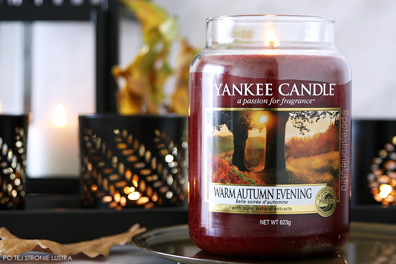 warm autumn evening yankee candle