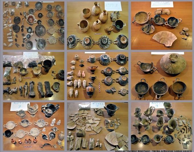 Ένα ολόκληρο Μουσείο οι  ανευρεθείσες αρχαιότητες στην Λοκρίδα - ΦΩΤΟΓΡΑΦΙΚΟ