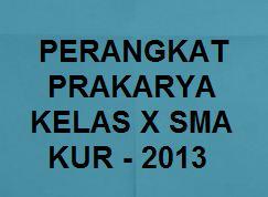 Download Rpp Silabus Prota Prosem Kkm Prakarya Kelas X Sma K13 Revisi 2019 Kherysuryawan Id