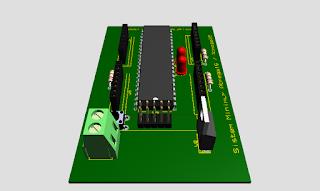 Download File Skematik dan Layout PCB Sismin Atmega16 / Atmega32 Proteus8 Ares