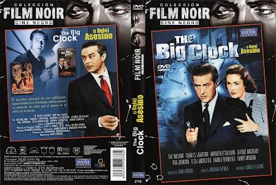 Carátula dvd: El reloj asesino (1948)