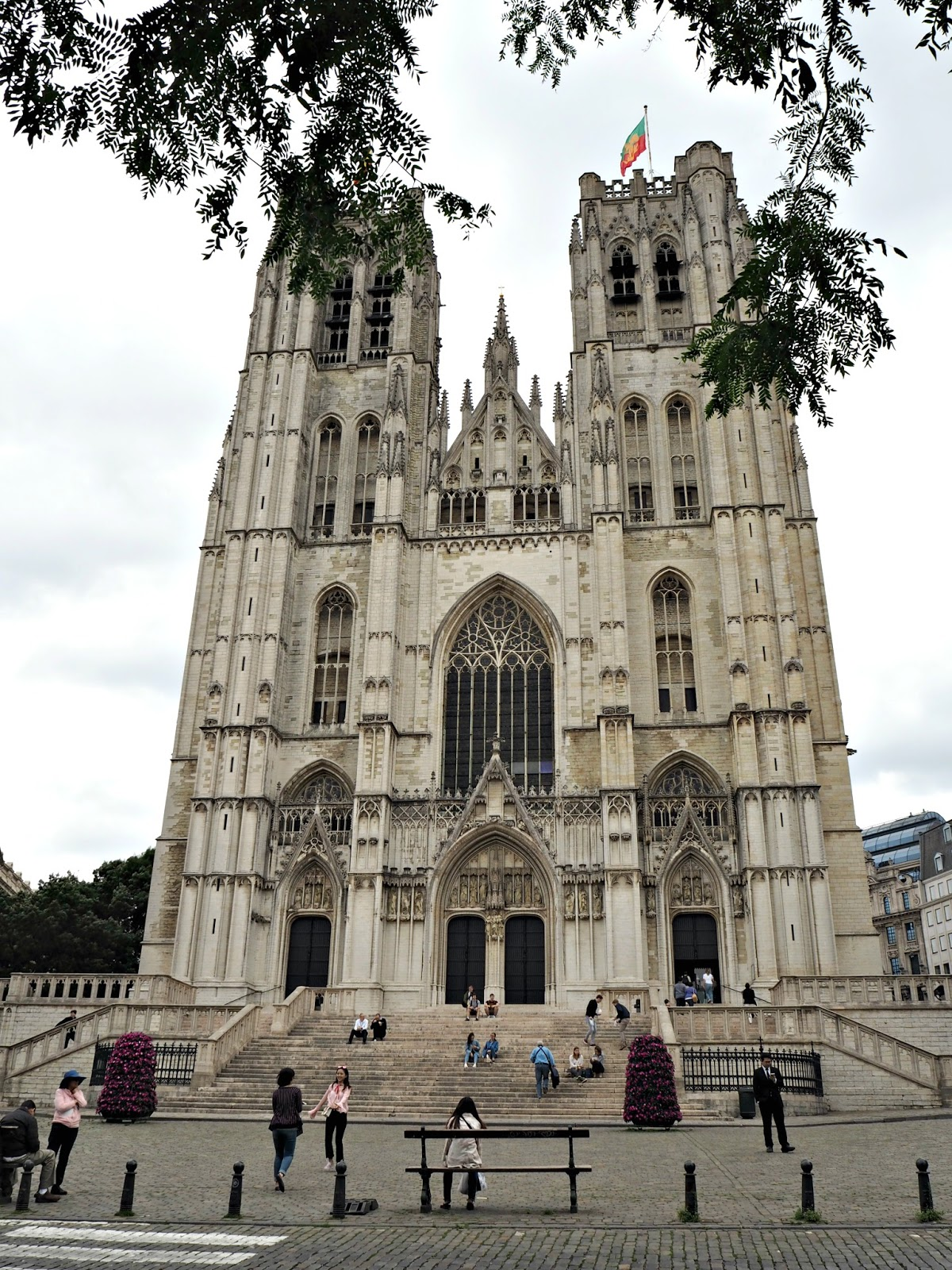 Brussels day trip St Michael and St Gudula Cathedral