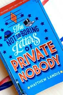 The Not So Boring Letters of Private Nobody Review Middle Grade Historical Fiction