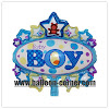 Balon Foil Oval Baby Boy Mini & Foil Oval Baby Girl Mini