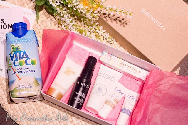 Birchbox Mayo de 2015: Let's Move.