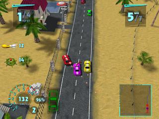 Gratis Game Balap Mobil Seru Mad Race untuk PC