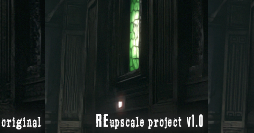 REupscale project   A Resident Evil HD Remaster Mod