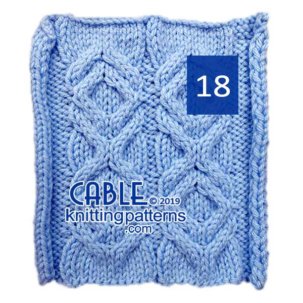 Cable Knitting Pattern 18