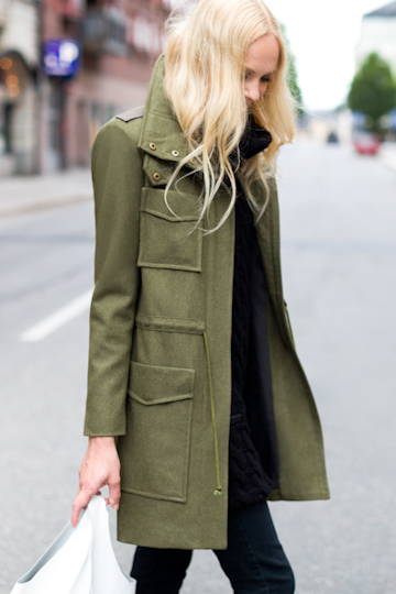 Emerson Fry New York Army coat