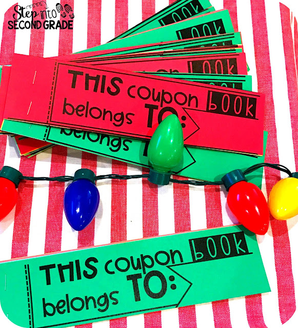 step into 2nd grade with mrs lemons student gift coupon book freebie