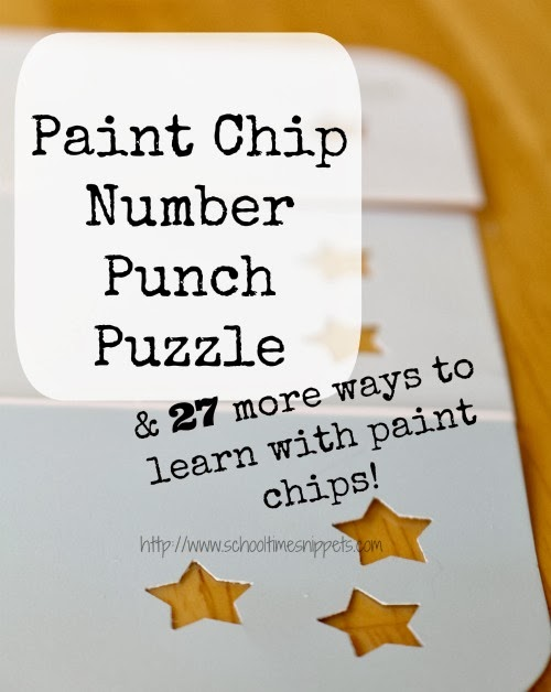 paint chip number puzzle