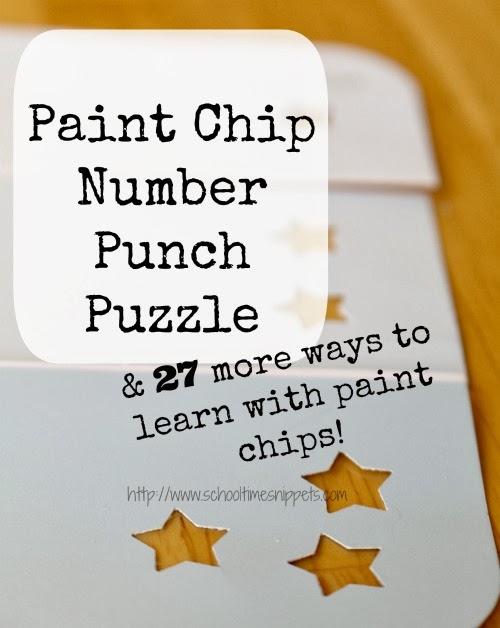 paint chip number puzzle