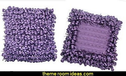 grape purple throw pillows
