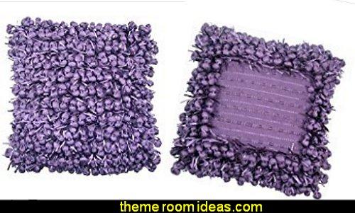 grape purple throw pillows