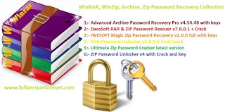 ZIP Password Unlocker v4 with Crack and Key Winrar and Winzip password hacker