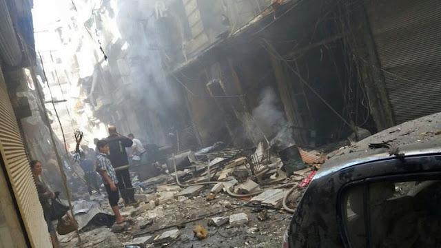 Un ataque de militantes con armas químicas en Alepo deja heridos al menos 30 militares sirios