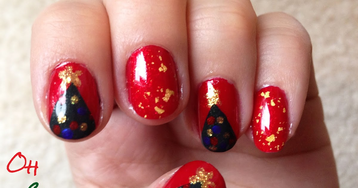 Nail Yourself: Week 12: Inspired By Song (Oh Christmas Tree