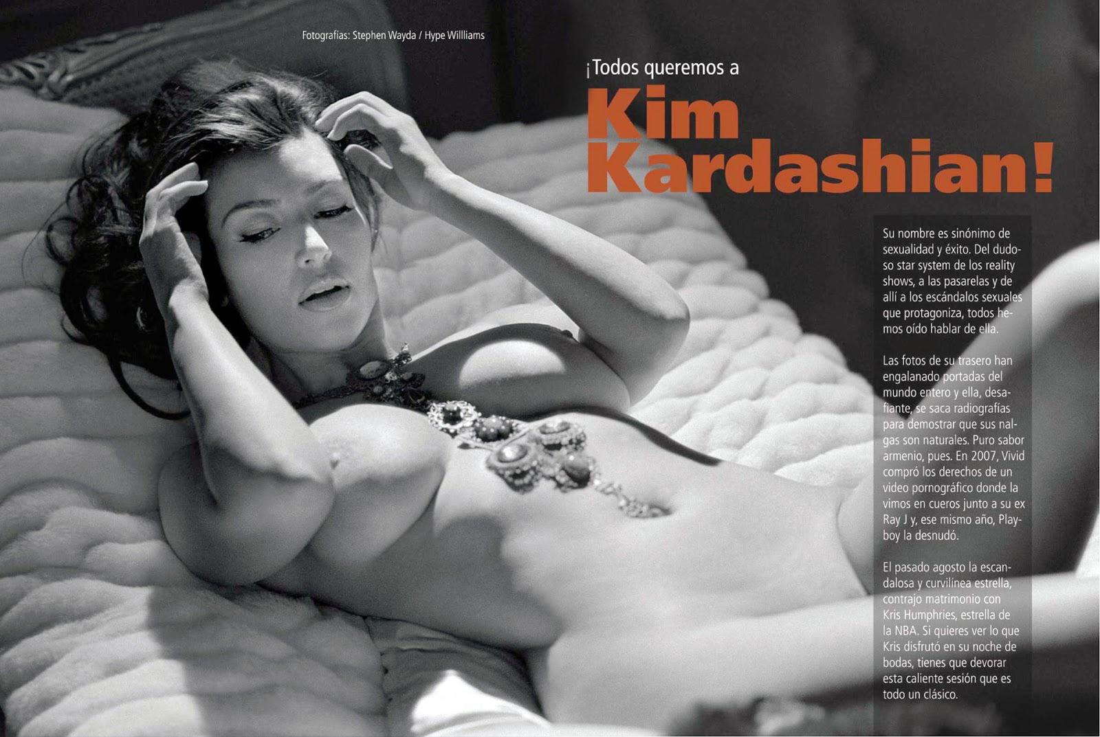 Kim kardashian nude masturbated where