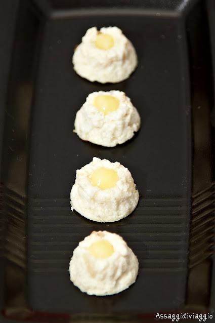 Sformatini di topinambur con salsa all'arancia