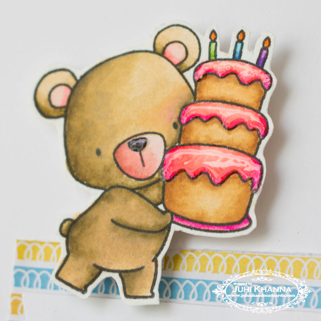 MFT Stamps Beary Special Birthday