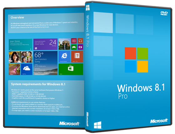 Windows 8 and 8.1 iso free download