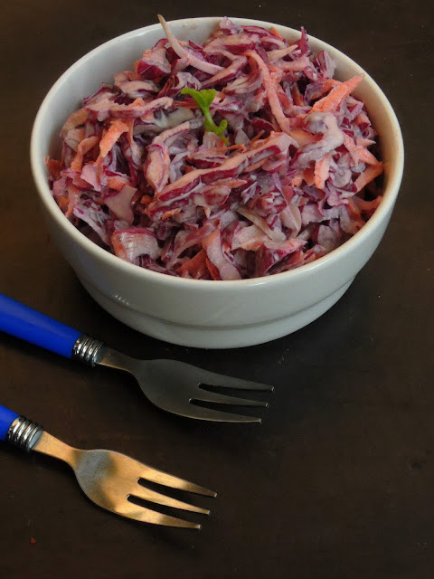 Coleslaw, Red Cabbage Coleslaw