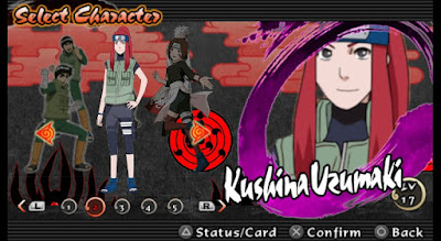 Naruto Impact NSUNI Mod Texture Kushina Uzumaki