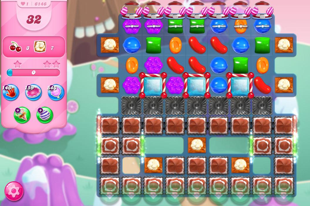 Candy Crush Saga level 6146