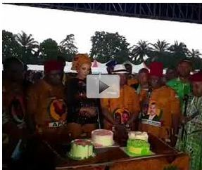 Watch How Anambra State Government Celebrated Ojukwu's 84th Posthumous Birthday