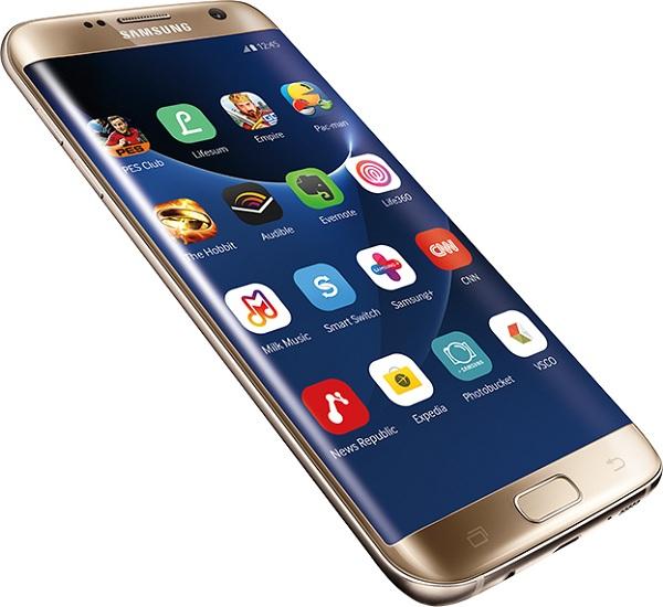 Samsung S7 Edge qua sử dụng sở hữu thiết kế sang trọng