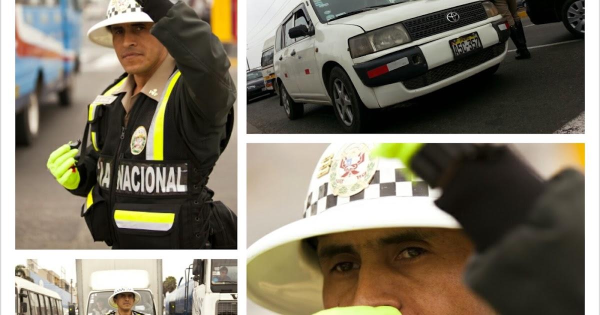 El incorruptible - Marco Novoa Policia de Transito del Perú ...