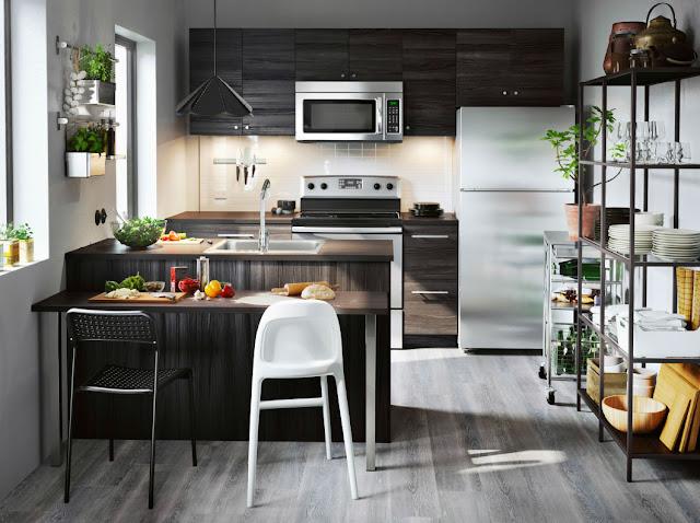 Perindah Dapur Dengan Furniture Terbaik Dari IKEA