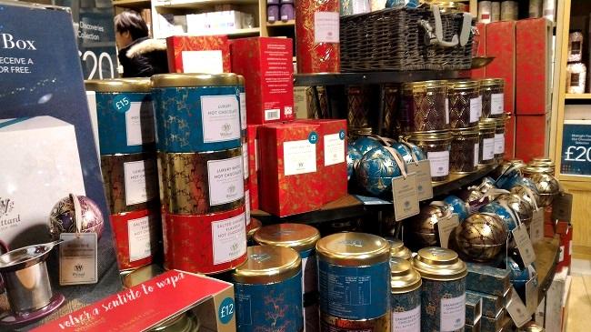 Tienda de tés Wittard de Londres