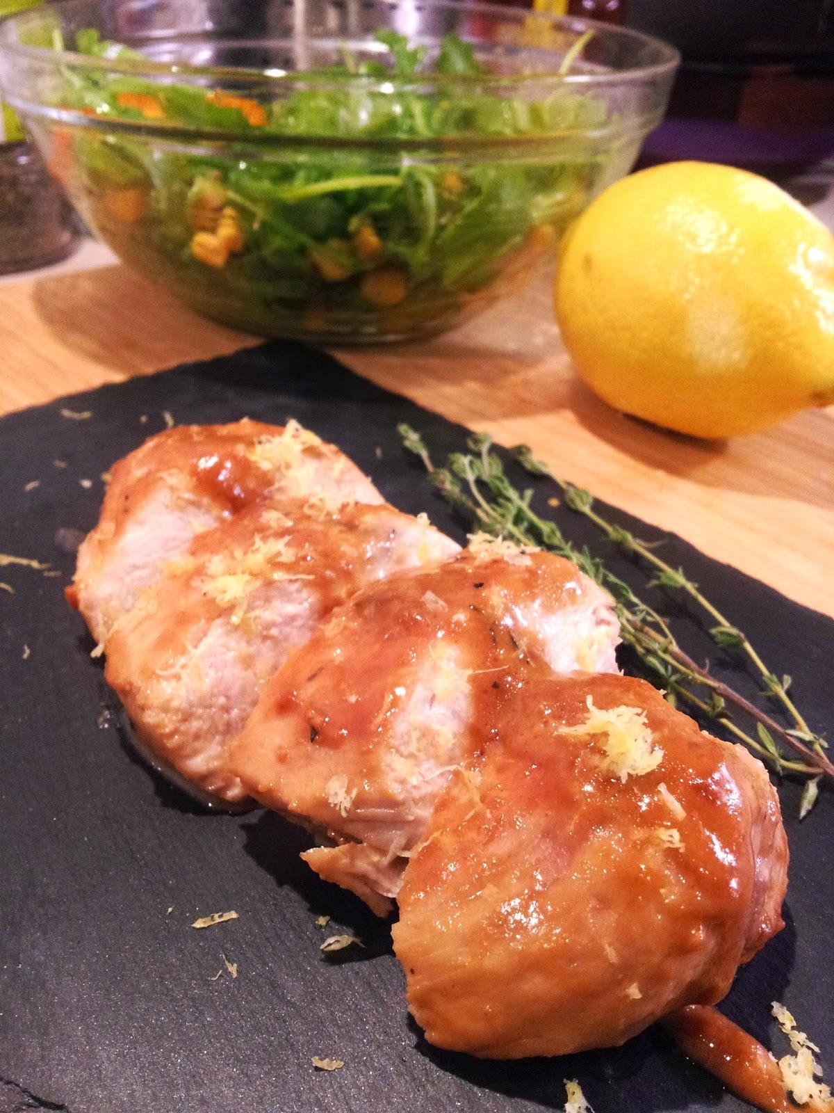 Pechuga de pollo con salsa de Pedro Ximenez