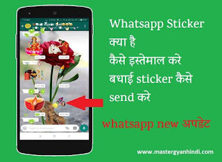 whatsapp sticker kya hai use kaise kare