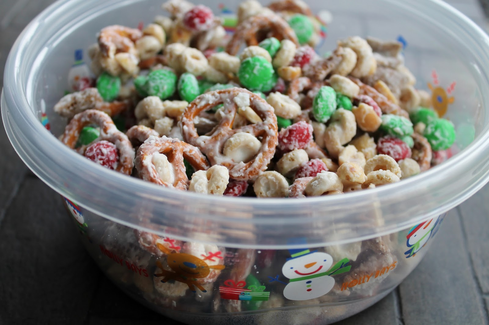 Key Ingredients  Christmas Party Mix