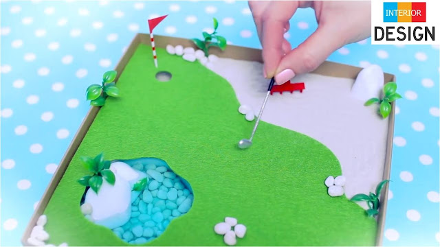 DIY Miniature Golf Zen Garden 96