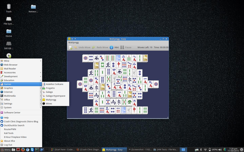 Crash Clinic Diagnostics - Linux Distro: Screenshots
