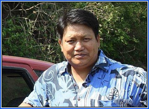 GJM Spokesman Swaraj Thapa