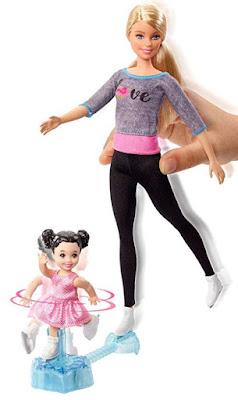 Barbie Ice-Skating Coach Dolls